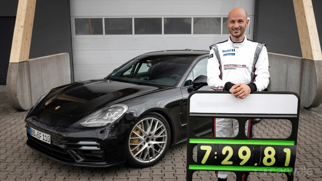 Porsche Panamera sets Green Hell record