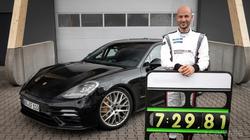 Porsche Panamera sets Green Hell record
