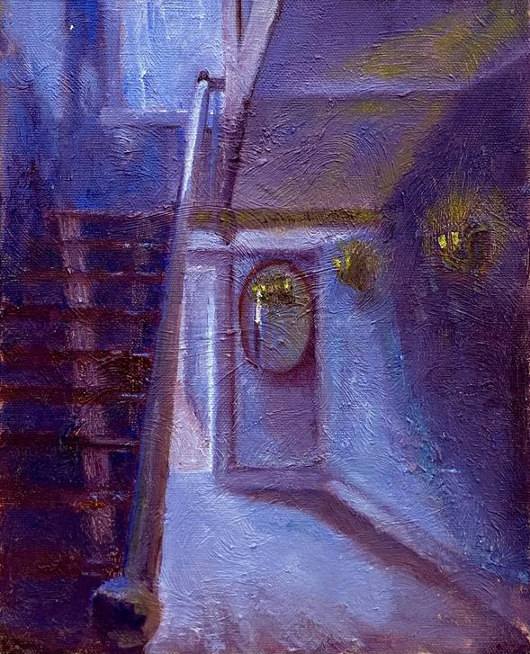 Fells Stairway (Blue/Violet)