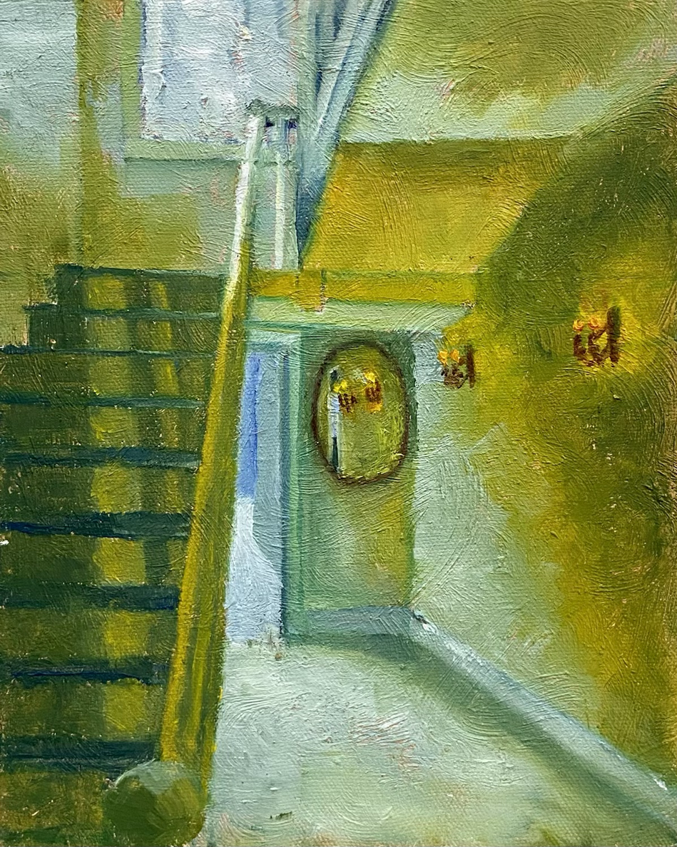 Fells Stairway (Green/Yellow)