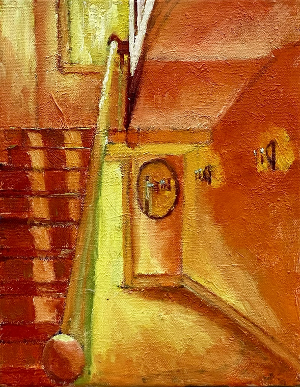 Fells Stairway (Yellow/Orange)