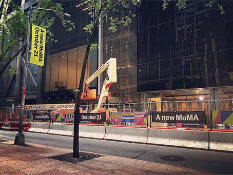 MoMa- The Museum of Modern Art is closed..