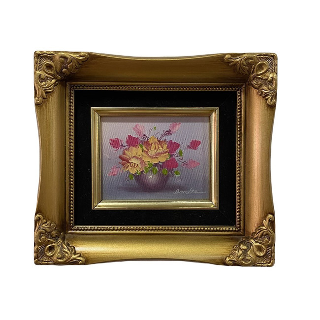 Untitled (Pink Flower Still Life)