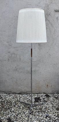 Lampe moderniste allemande en métal chromé