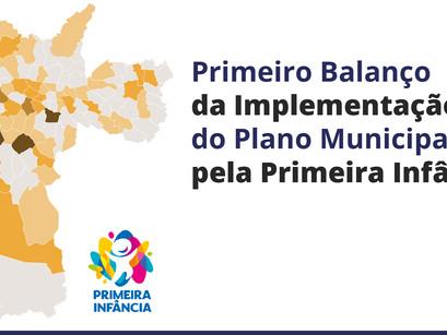 Primeiro balanço da implementação do Plano Municipal pela Primeira Infância