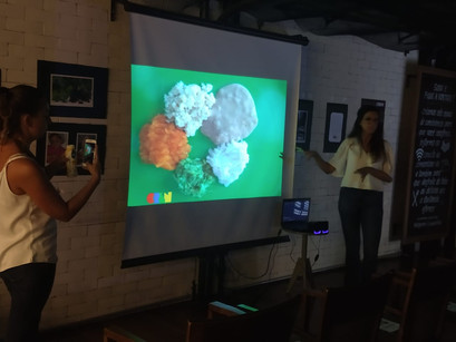 CREN promove palestra sobre a importância dos Primeiros Mil Dias para os clientes da Quitanda