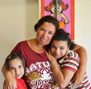 Emily, Ana Paula e Daiane