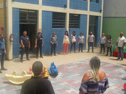 Equipe do CREN faz treinamento em mindfulness
