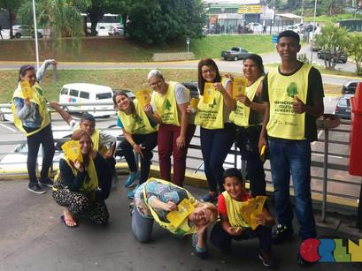 Crianças do CREN são voluntárias na Coleta de Alimentos 2017