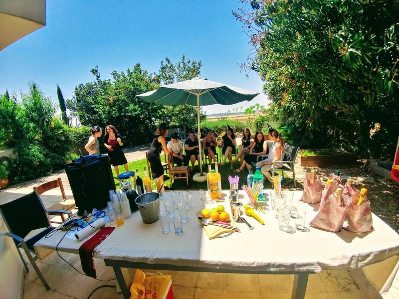 סדנת קוקטיילים למסיבת רווקות