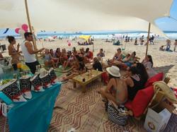 מסיבת רווקות בחוף הים