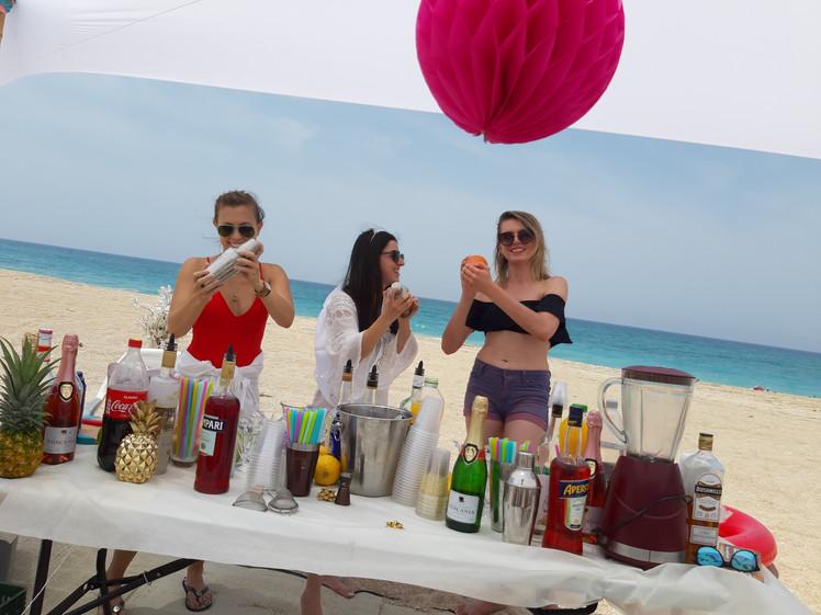מסיבת רווקות חוף הים