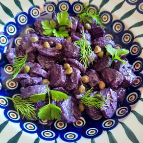 Salade de Vitelottes et Câpres 😊