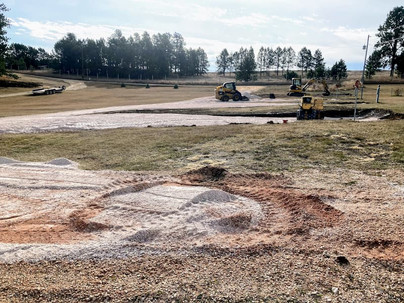 Exciting improvements to Sunset RV Park: Leveled sites!