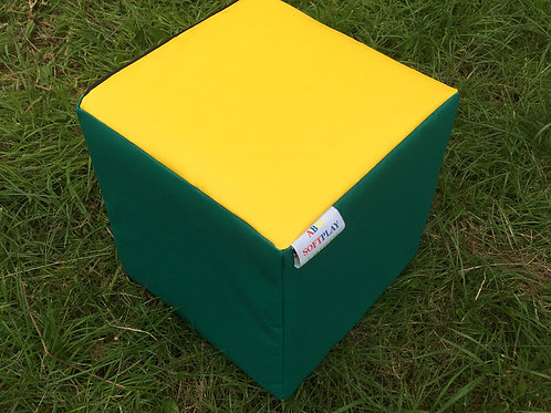 Multi-Coloured Cube-Green/Yellow