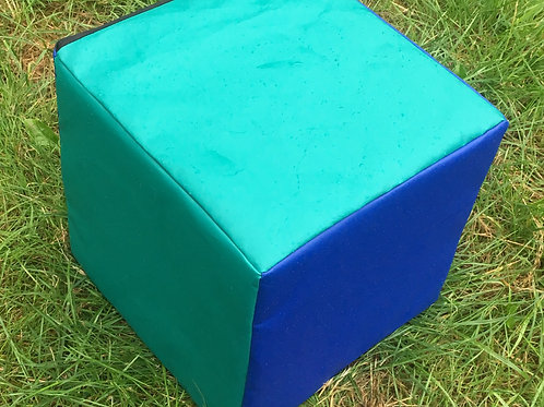 Multi-Coloured Cube- Blue/Green