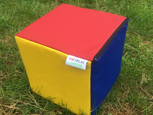 Multi-Coloured Cube- Red/Blue/Yellow