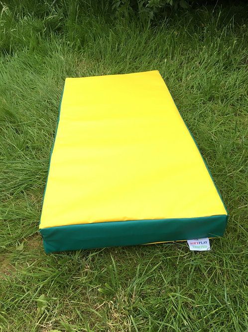Yellow with Green sides- 100cm x 50cm x 10cm