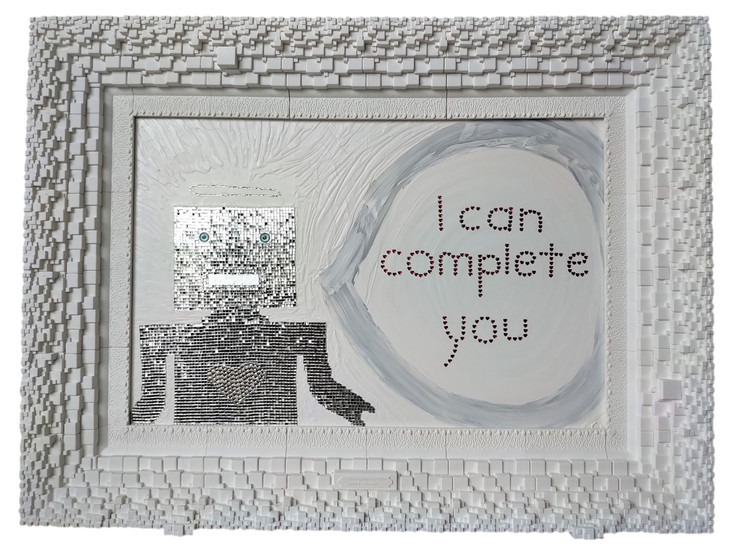 i can complete you - whole no background