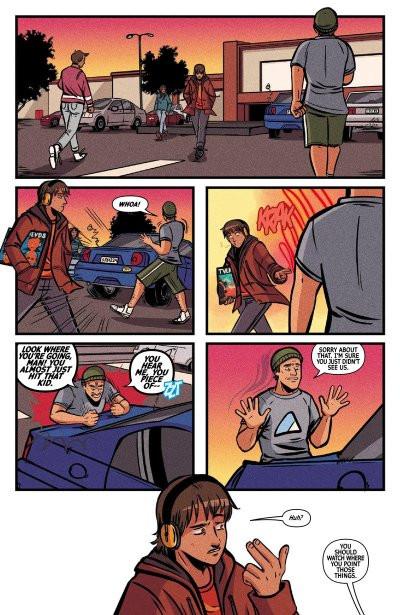 Image result for finger guns #1 vault comics