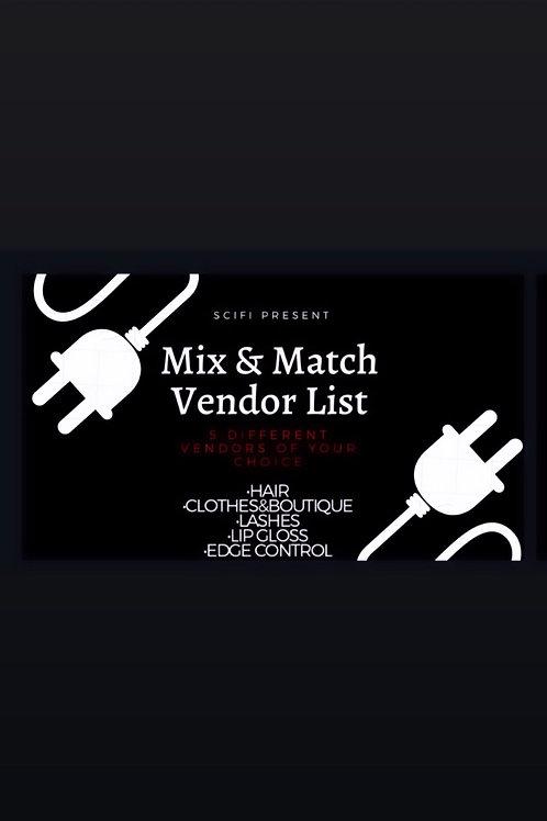 Mix & Match Vendor