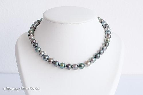 Collar con 41 perlas