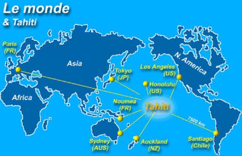 El mundo & Tahiti
