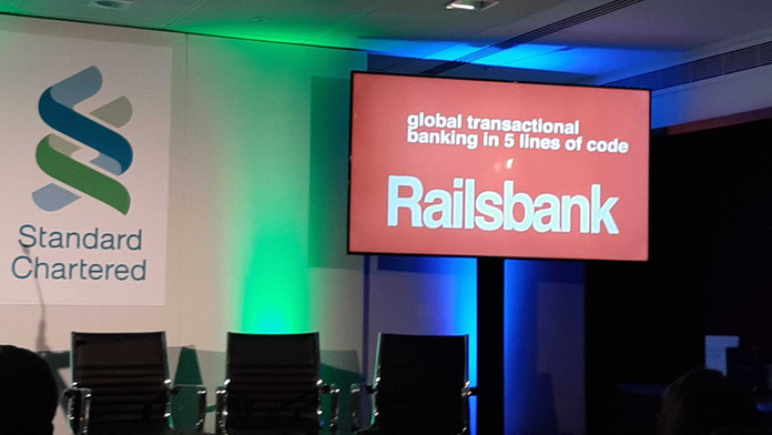 Awesome news as Railsbank makes FinTech50 list for third time