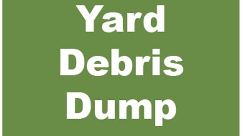Yard Debris Dump