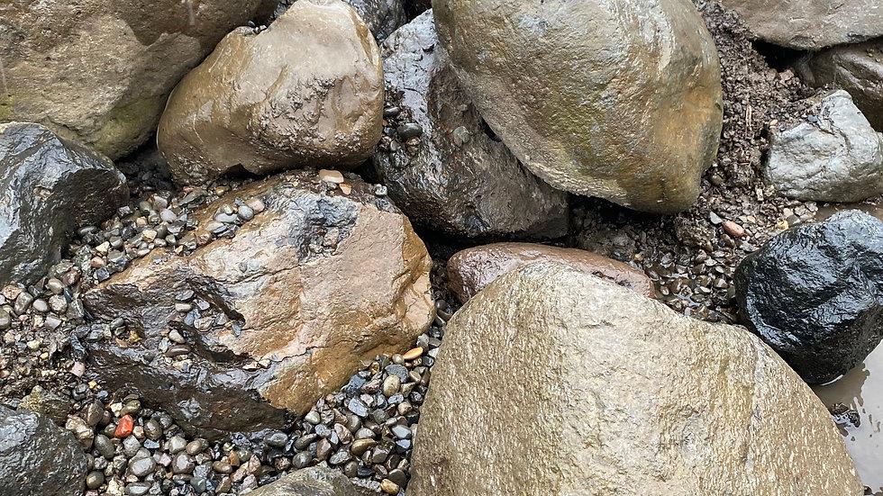 "8""-18""River Rock"