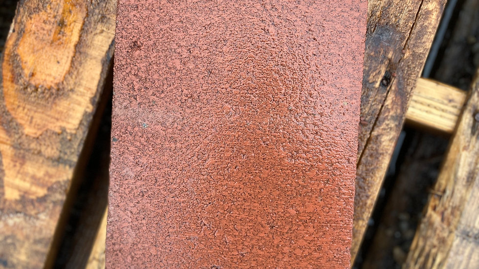 """Patio Tile 8""""x16"""" Red"""
