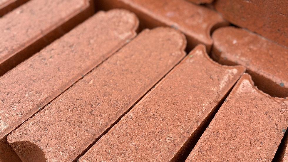4x4x12 Concrete Red