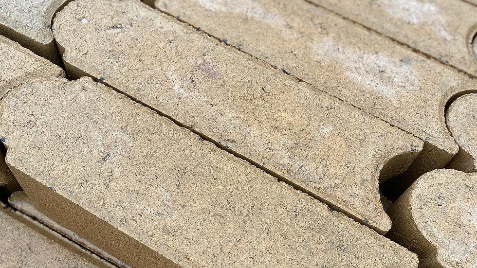 4x4x12 Concrete Brown