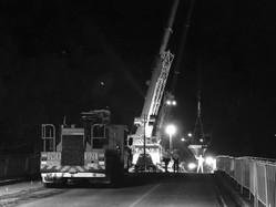 Wellwood, Sue - Bridge works at night.jpeg