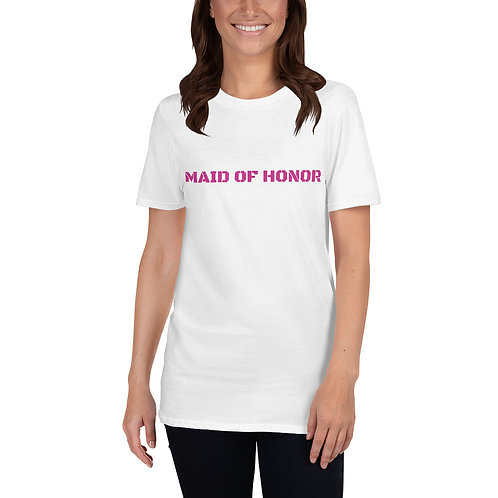 Maid of Honor Short-Sleeve Unisex T-Shirt