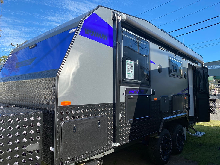 2020 VANMAN BOAB Couples Caravan