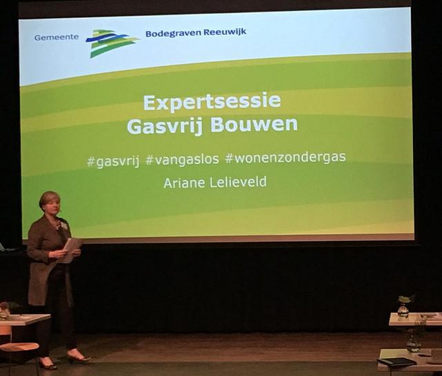 Expertsessie Gasvrij bouwen in Bodegraven-Reeuwijk