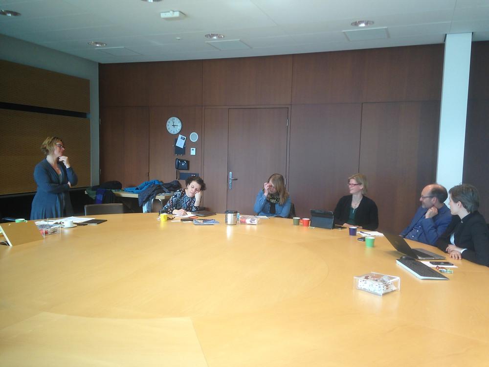 Het Klimaatavontuur op avontuur bij Provinciehuis Overijssel in Zwolle