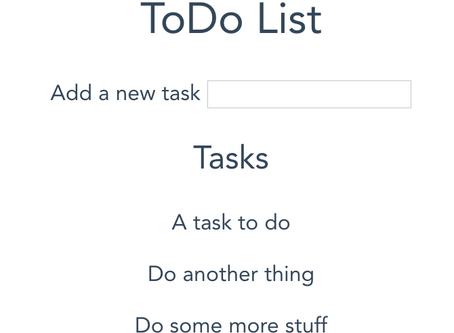 Building a ToDo List Application With Vue.JS