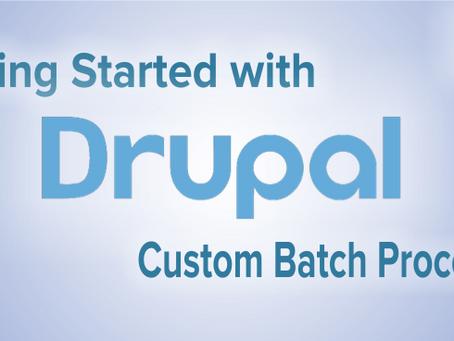 D8- Custom Batch Processes
