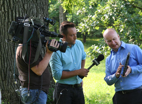 Having Fun and Making News with the Morton Arboretum