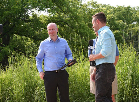 News from the Field, Stream AND Prairie: WGN TV News  Segment Features BT Morton Arboretum App