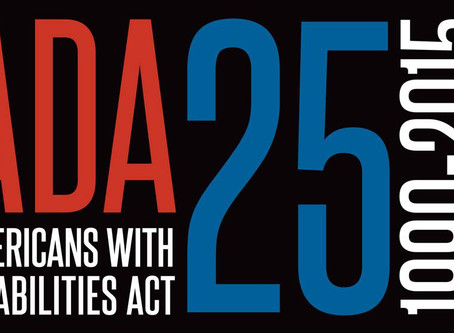 HAPPY BIRTHDAY to the Americans with Disabilities Act!