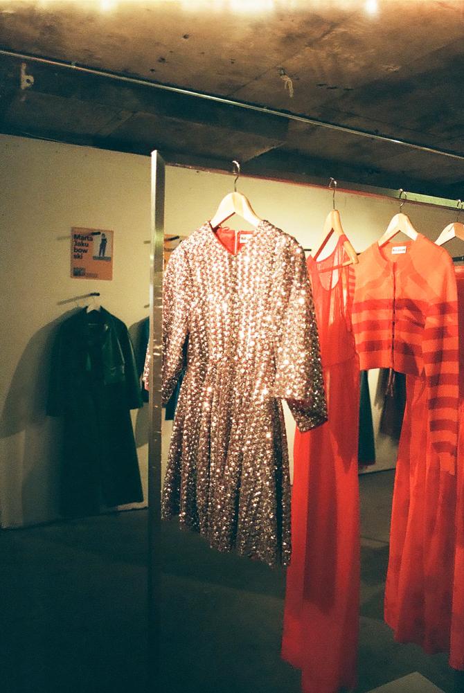 Molly Goddard S/S18 Showroom on 35mm