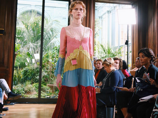 ART HISTORY BUFFS WILL LOVE VALENTINO'S SPRING COLLECTION