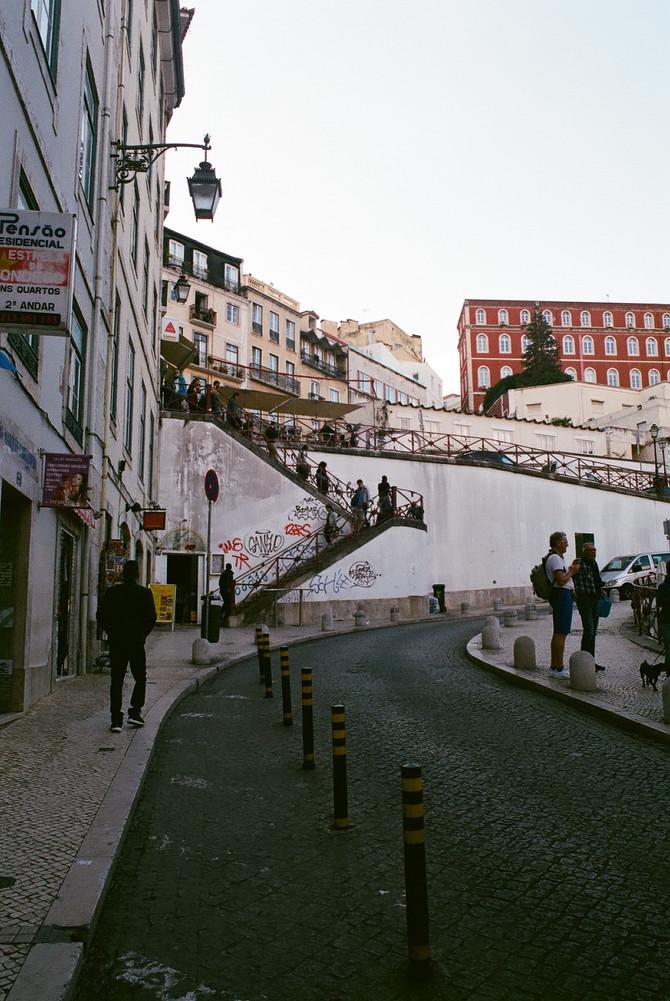 Lisbon, Portugal on 35mm