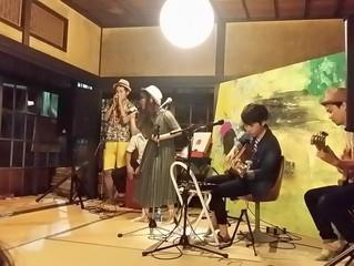 2015年6月21日@ホタルの光音楽会withキャンドルナイト