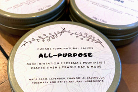 All Purpose Salve 50g by Purabe