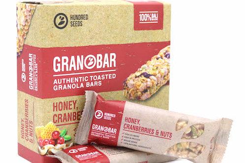 GRANOBAR Honey, Cranberries & Nuts - Single/29g