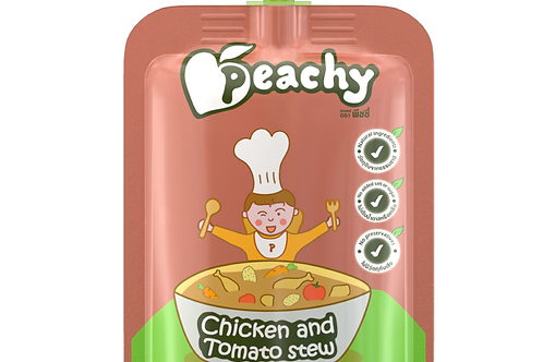 Chicken and Tomato Stew Peachy by Peachy Baby Food 110g